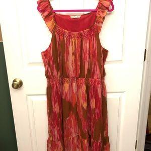 Old Navy XXL Dress Pink & Brown